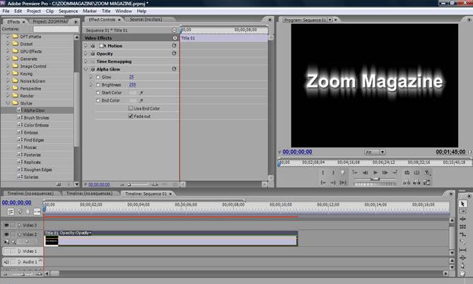 Fazendovdeo desvendando o adobe premiere pro cs3 parte 16 agora vamos animar o efeito atravs da paleta effect controls com o leitor de imagens posicionado no incio da timeline em 0 segundos marque um ccuart Gallery