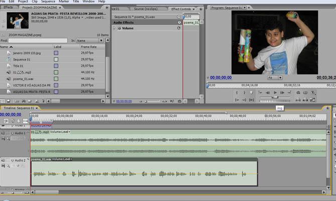 Fazendovdeo desvendando o adobe premiere pro cs3 parte 18 de acordo com a necessidade abrem se quantas trilhas de udio forem necessrias na hora de editar o corte dos clipes feito da mesma forma que os de ccuart Gallery